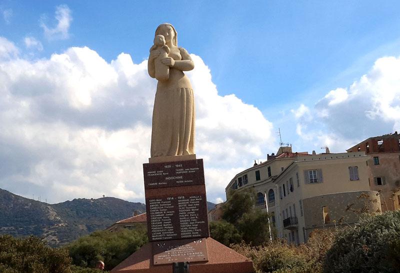 ile rousse-monument aux morts