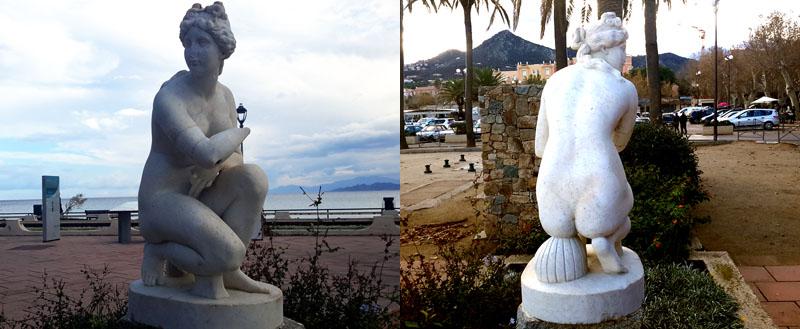 statue ile rousse