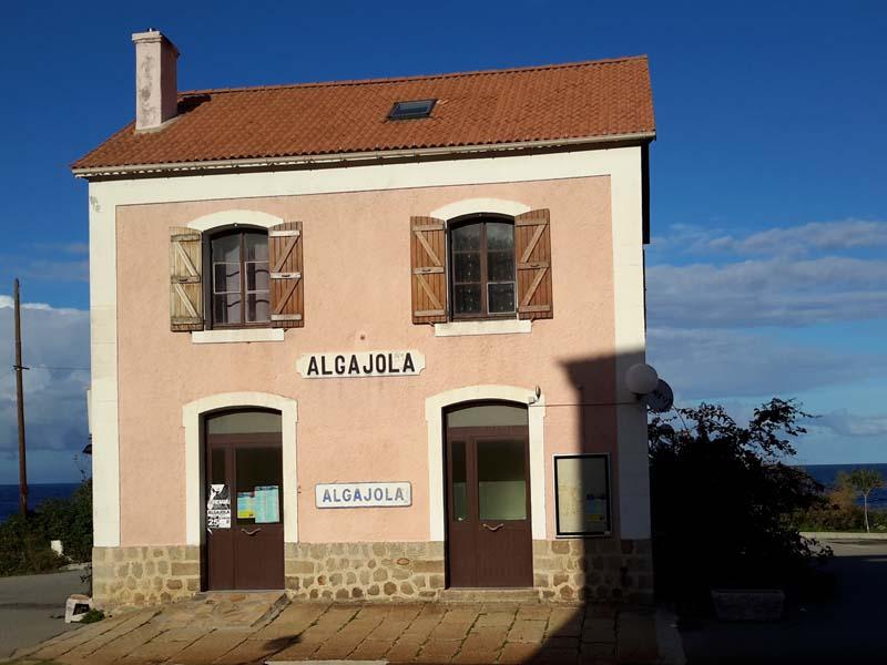 Gare Algajola