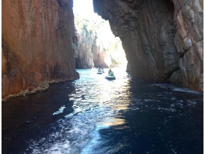 promenade en mer Corse
