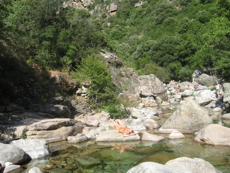 piscine naturelle evisa