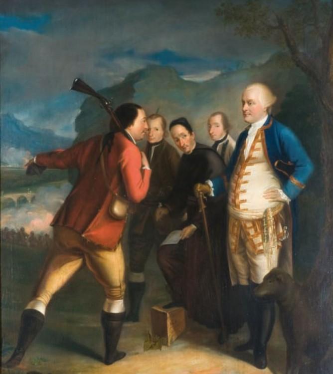 peinture de Henry Benbridge