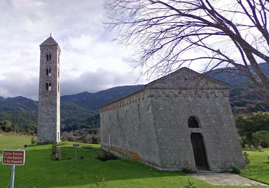 L'église San Giovanni Battista Carbini date du XIIe siècle