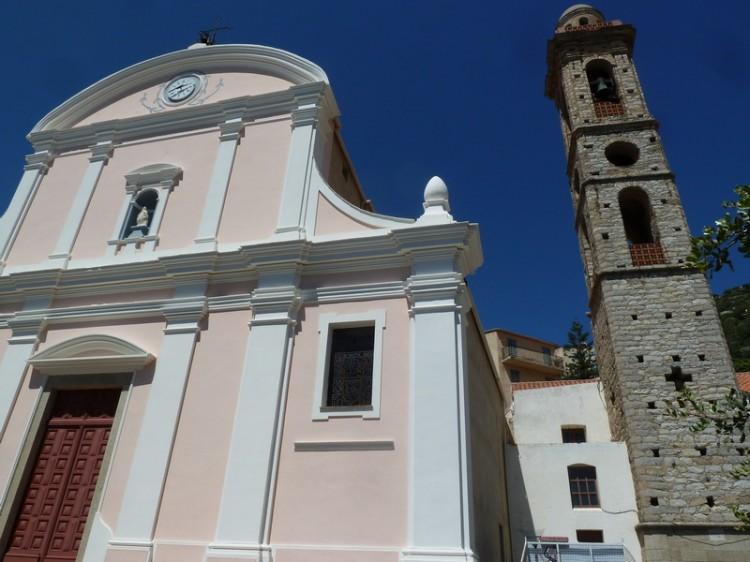 église baroque de lumio