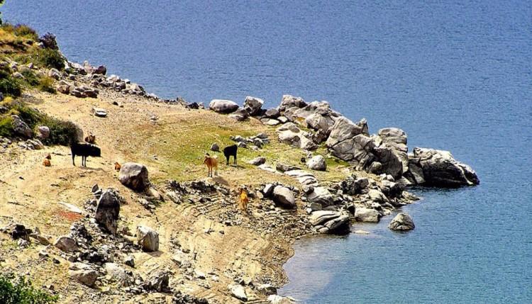 lac de claccuccia rive nord