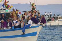 procession en mer