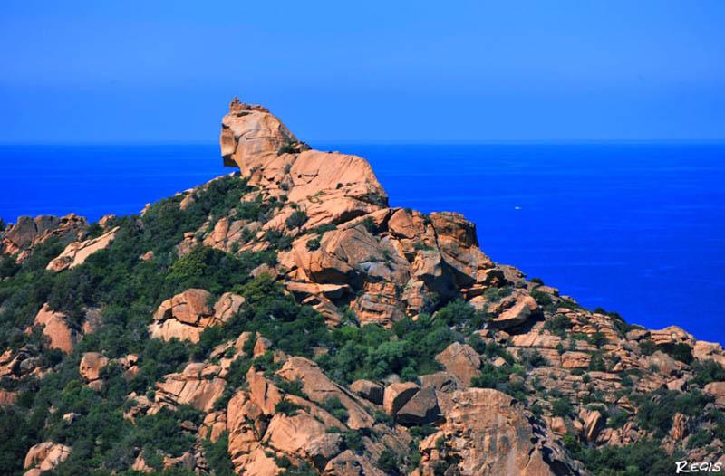 Roccapina La Corse