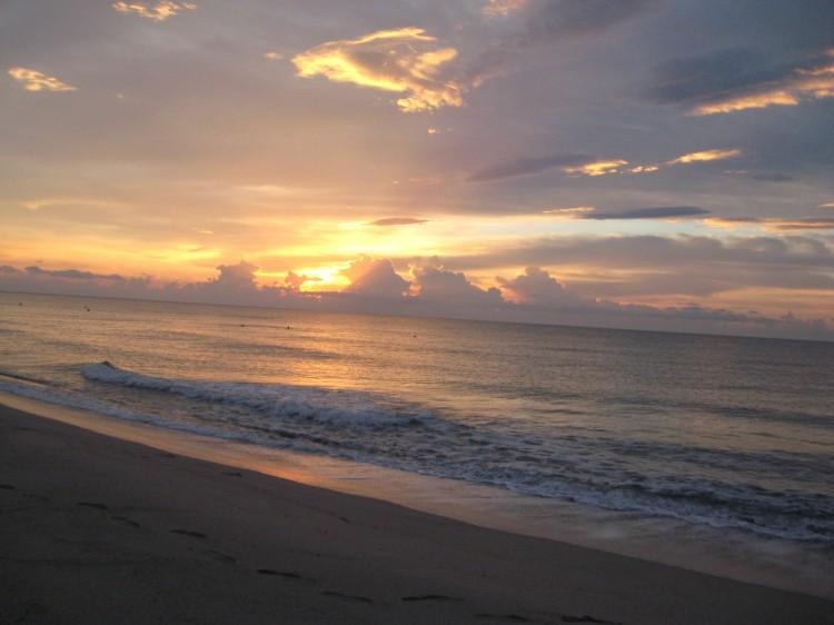 lever de soleil corse