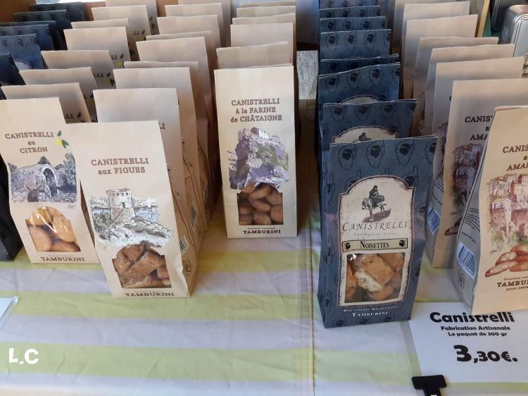 marché d'Ajaccio aux bonbons de Solange