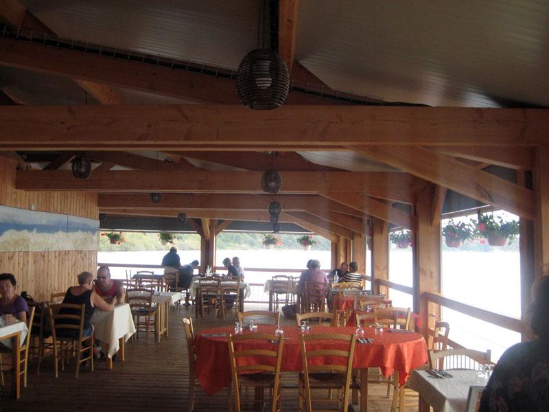 restaurant de l'étang d'Urbino