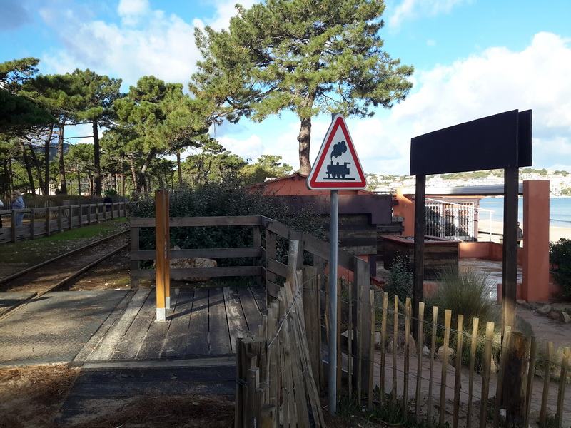 arret du train Balagne-Orizontenovo