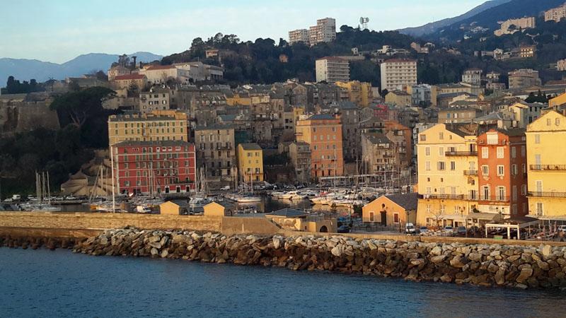 Le vieux port de Bastia